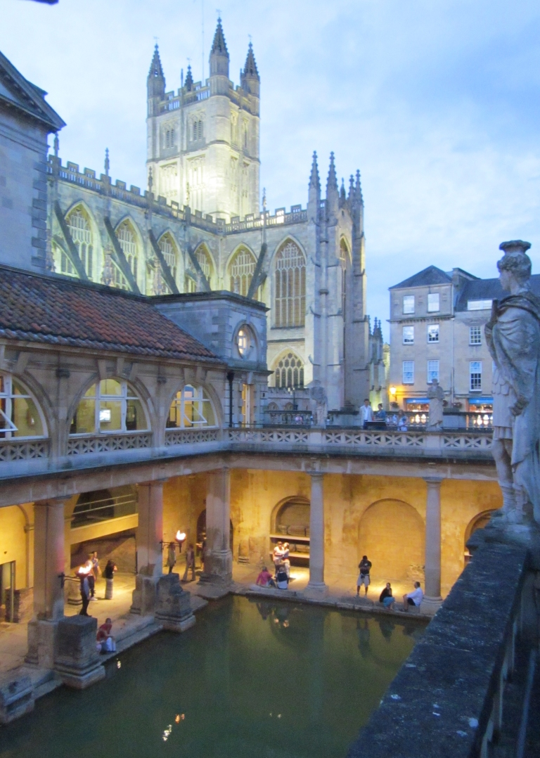 Ancient Roman Baths, Bath UK, Summer 2012