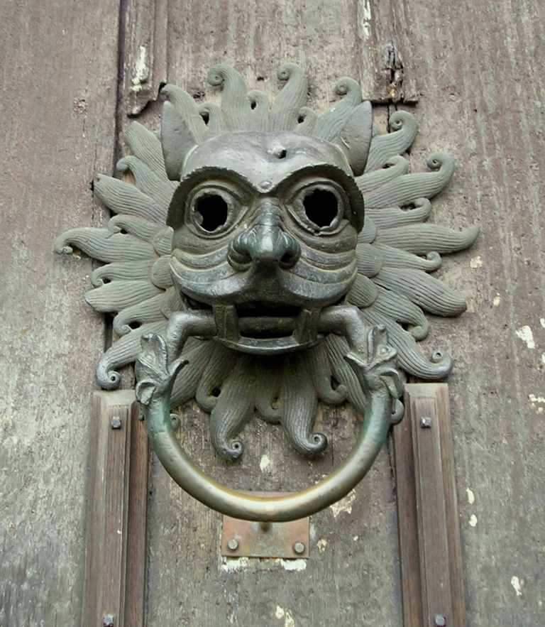 Sanctuary Door Knocker, Durham Cathedral, 2005