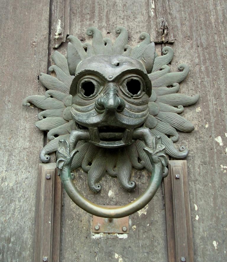 Sanctuary Door Knocker, Durham Cathedral, 2005