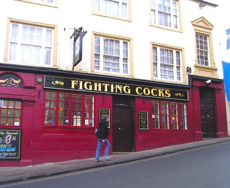 Fighting Cocks Pub, Durham, UK