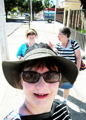 Dawn, Alisha, and Judy in Mazatlan